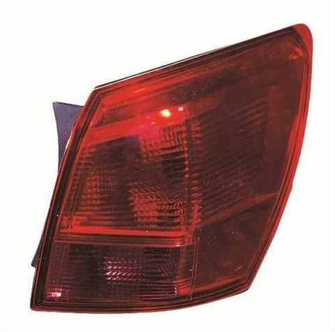 Nissan Qashqai Hatchback 2007-2010 Rear Lamp Outer Section Driver Side R
