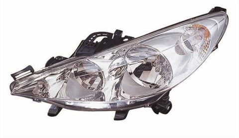 Peugeot 207 Cabriolet  2007-2009 Headlamp (Not Directional Type) Passenger Side L
