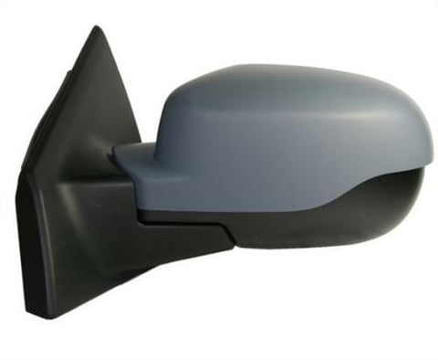 Renault Clio Estate  2009-2012 Door Mirror Electric Manual Fold Type With Primed Cover Passenger Side L