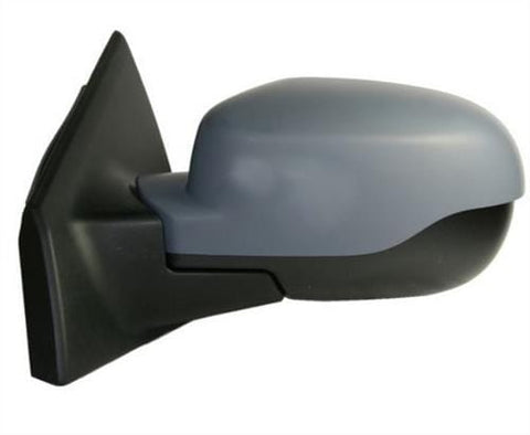 Renault Clio Estate  2009-2012 Door Mirror Manual Type With Primed Cover Passenger Side L