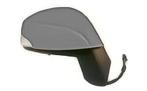 Renault Grand Scenic MPV 2009-2012 Door Mirror Electric Manual Fold Type With Primed Cover Driver Side R