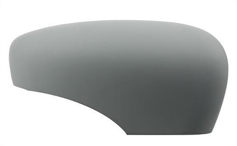 Renault Captur Hatchback 2017- Door Mirror Cover Primed (Manual Folding Mirrors) Driver Side R