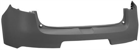 Renault Megane 5 Door Hatchback  2012-2013 Rear Bumper No Sensor Holes - Primed