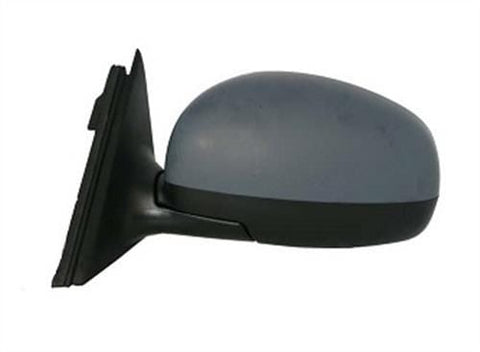 Skoda Fabia Estate  2007-2010 Door Mirror Electric Heated Type With Primed Cover Passenger Side L