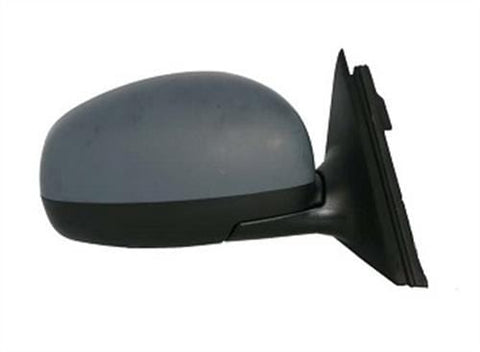 Skoda Fabia Hatchback  2007-2010 Door Mirror Electric Heated Type With Primed Cover Driver Side R