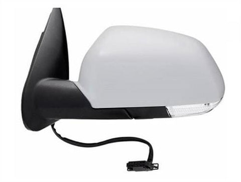 Skoda Octavia Estate  2004-2009 Door Mirror Electric Heated Manual Fold Type With Primed Cover Passenger Side L