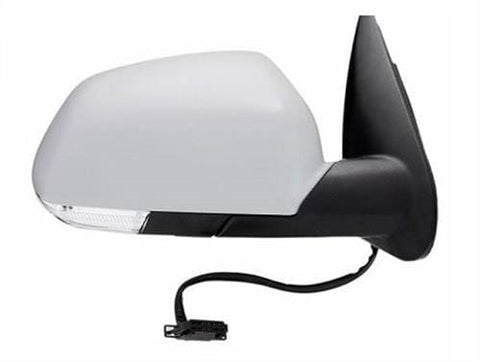 Skoda Octavia Estate  2004-2009 Door Mirror Electric Heated Manual Fold Type With Primed Cover Driver Side R
