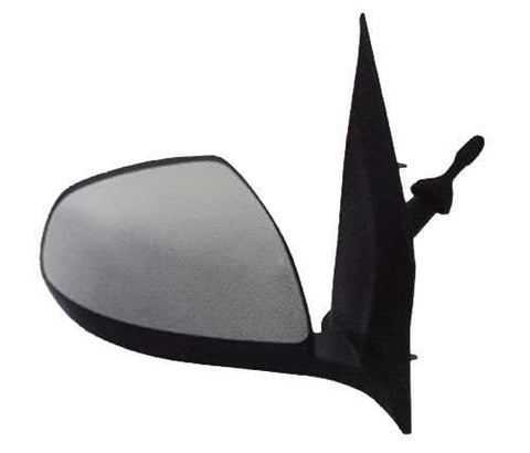Nissan Pixo Hatchback 2009-2013 Door Mirror Manual Type With Primed Cover Driver Side R