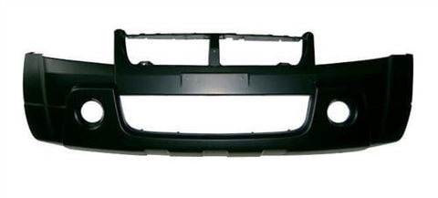 Suzuki Grand Vitara 5 Door Estate  2006-2009 Front Bumper With Lamp Holes - No Wash Jet Holes - Not Primed