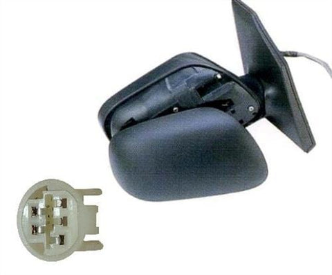 Toyota Corolla 3 Door Hatchback  2002-2004 Door Mirror Electric Type With Black Cover (3 Pin) Driver Side R