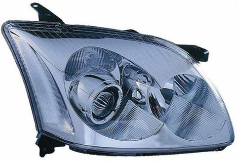 Toyota Avensis (Not Verso) Saloon  2003-2006 Headlamp Halogen Type (No Motor) Driver Side R