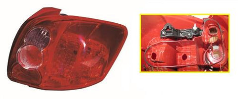 Toyota Auris 3 Door Hatchback  2007-2010 Rear Lamp Koito Design Driver Side R
