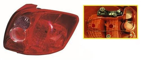 Toyota Auris 5 Door Hatchback  2007-2010 Rear Lamp Farba Design Driver Side R