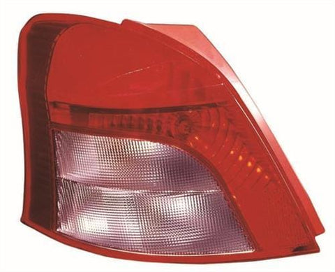 Toyota Yaris 5 Door Hatchback  2006-2009 Rear Lamp (Not SR 1.8 Models) Passenger Side L
