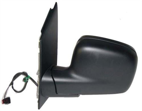 Volkswagen Caddy Van  2004-2010 Door Mirror Electric Heated Type With Black Cover Passenger Side L