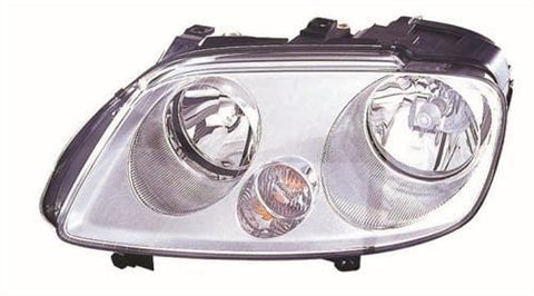 Volkswagen Caddy Van  2004-2010 Headlamp No Fog Lamp Version Passenger Side L