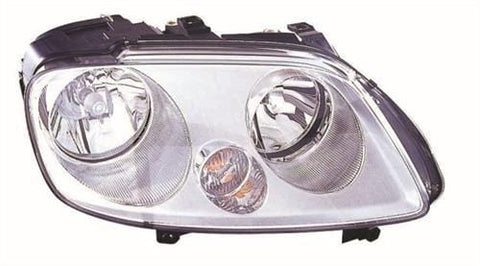 Volkswagen Caddy Van  2004-2010 Headlamp No Fog Lamp Version Driver Side R