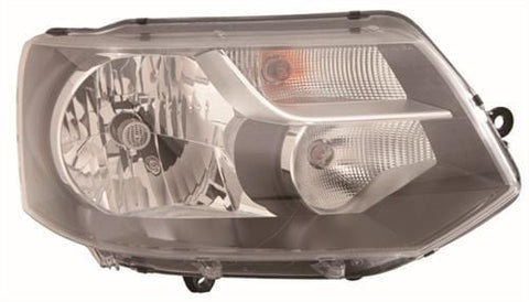 Volkswagen Caravelle MPV 2010-2015 Headlamp Single Reflector Type Driver Side R