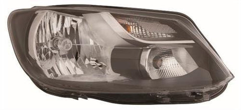 Volkswagen Caddy Van  2010-2015 Headlamp Single Reflector Type (Own Brand) Driver Side R