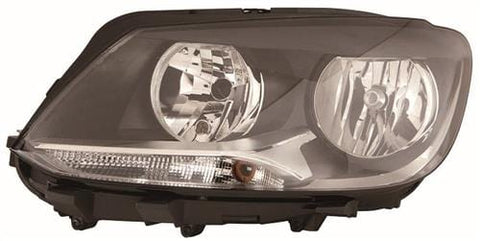 Volkswagen Touran MPV 2010-2015 Headlamp Halogen Type Passenger Side L