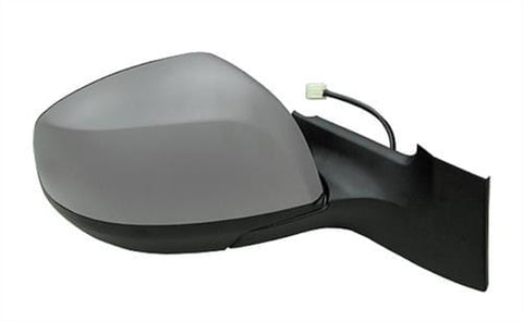 Suzuki Splash Hatchback 2012-2015 Door Mirror Electric Heated Type With Primed Cover Driver Side R