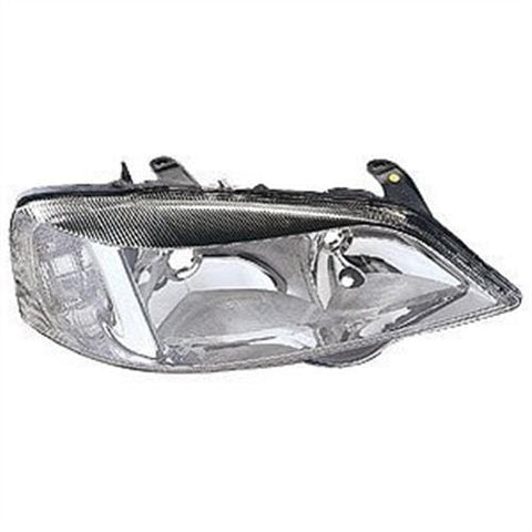 Vauxhall Astra Saloon  1998-2004 Headlamp Halogen Chrome Type Driver Side R