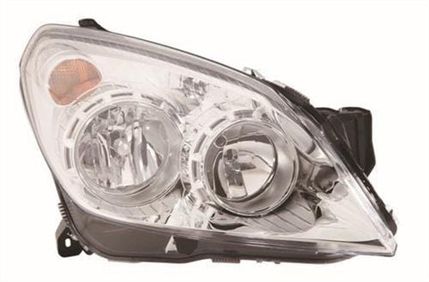 Vauxhall Astra Van  2007-2013 Headlamp Halogen Type - Chrome Driver Side R