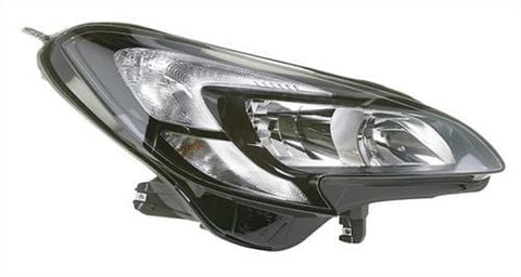 Vauxhall Corsa 3 Door Hatchback  2015-  Headlamp Halogen Type With Halogen Daytime Running Lamp Driver Side R