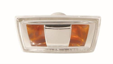 Vauxhall Astra 3 Door Hatchback 2005-2012 Indicator Lamp Clear Lens - With Grey Base (Situated In The Front Wing) Passenger Side L