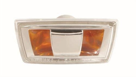 Vauxhall Astra 3 Door Hatchback 2005-2012 Indicator Lamp Clear Lens - With Grey Base (Situated In The Front Wing) Driver Side R
