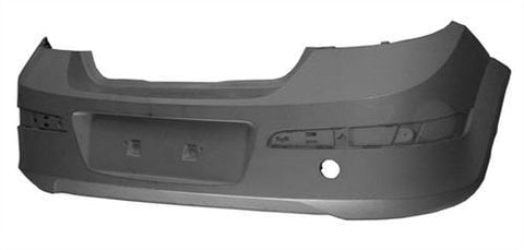 Vauxhall Astra 5 Door Hatchback  2007-2009 Rear Bumper No Sensor Holes - Primed (Not SRi Models)