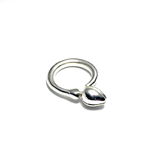 Silver Bud Ring - Cynabar Jewellery