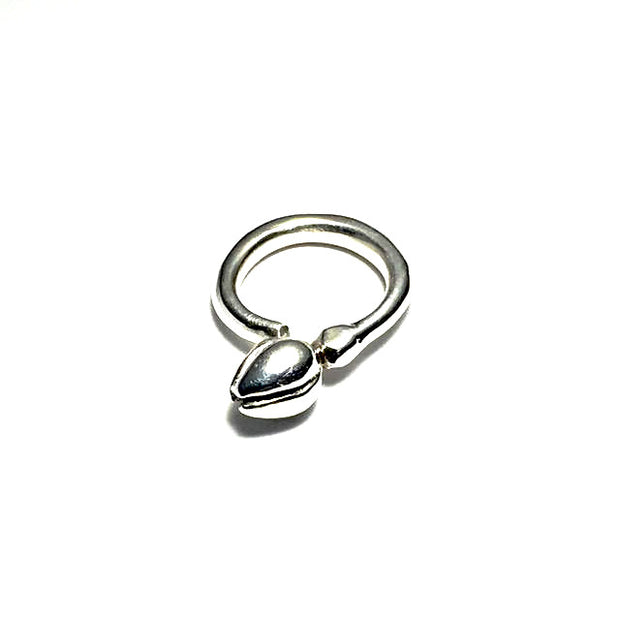 Silver Bud Ring - Cynabar Boutique