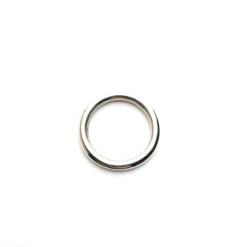 Silver Round Wire Ring - Cynabar Boutique