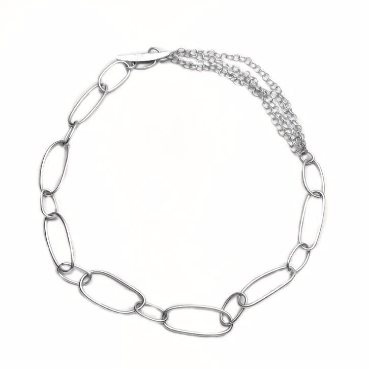 Silver Chain Necklace - Cynabar Boutique
