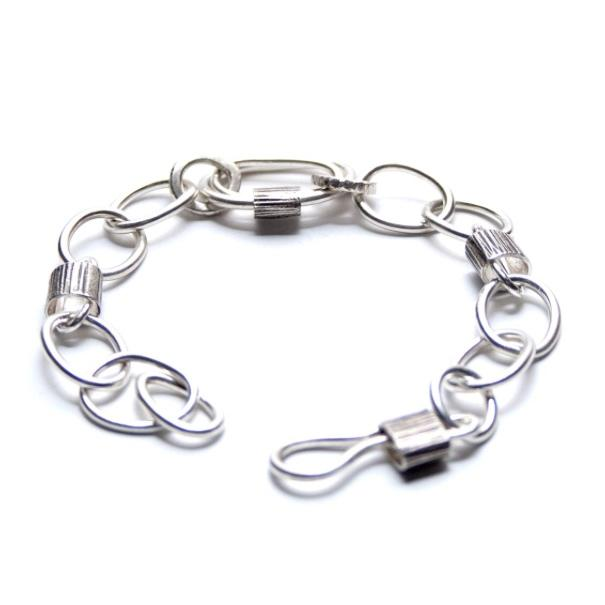 Silver Chain Bracelet - Cynabar Boutique