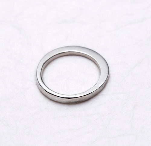 Silver Flared Ring - Cynabar Boutique