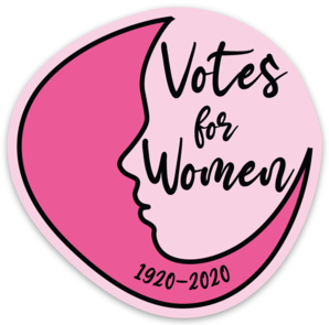 Votes for Women Vinyl Sticker