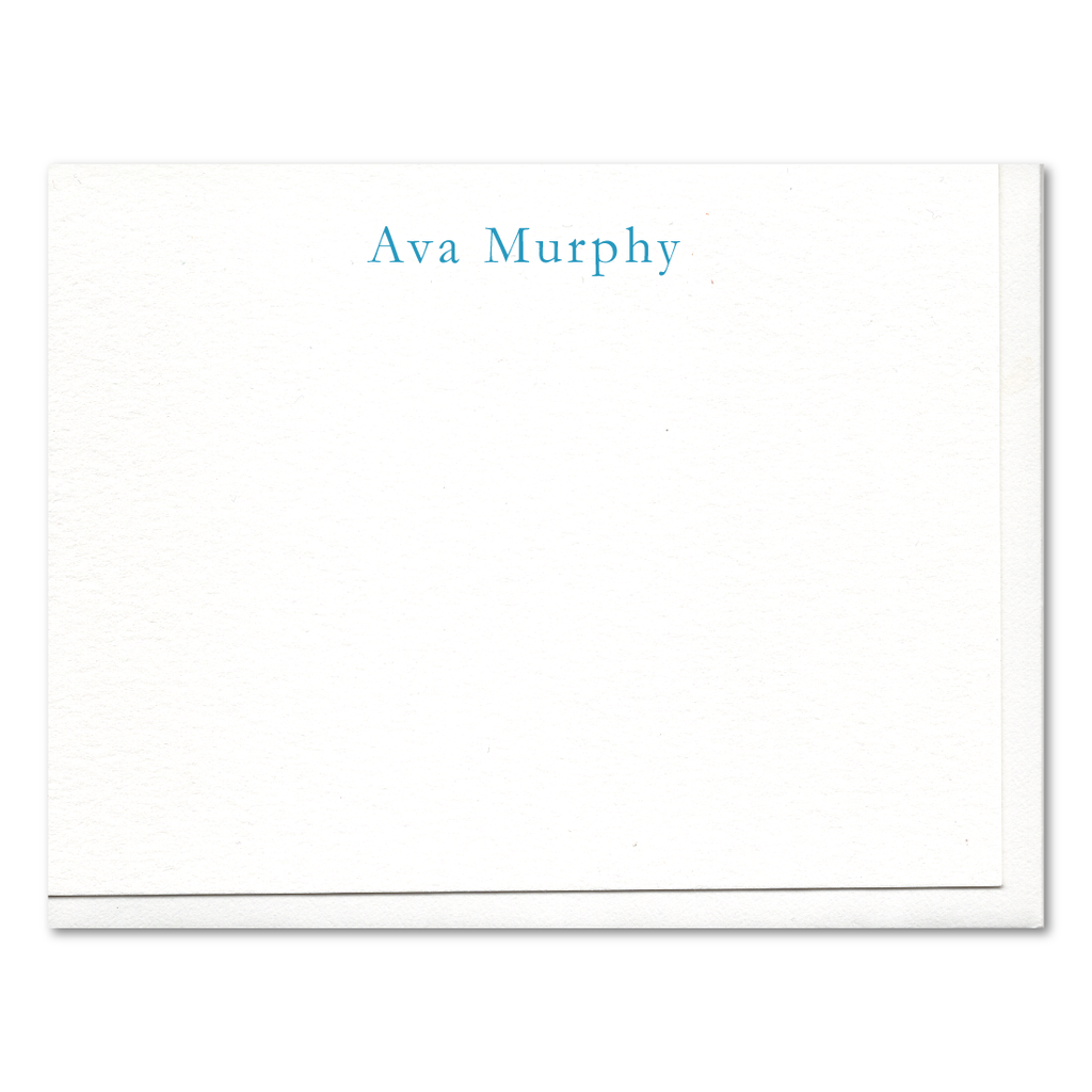 Ava Formal Custom Letterpress Stationery
