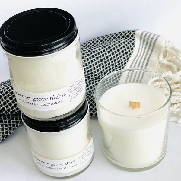Downers Grove Days Coconut Soy Candle