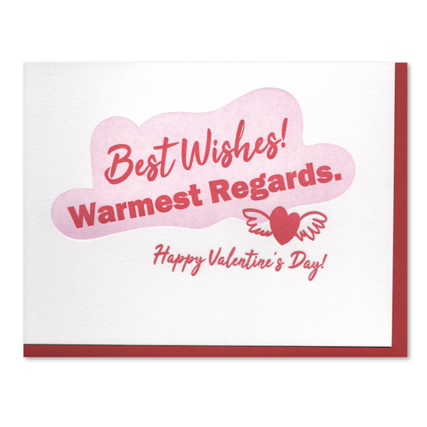 Shitt's Creek Valentine Letterpress Card