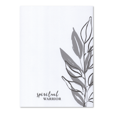 "Spiritual Warrior 5"" x 7"" Wellness Notepad"