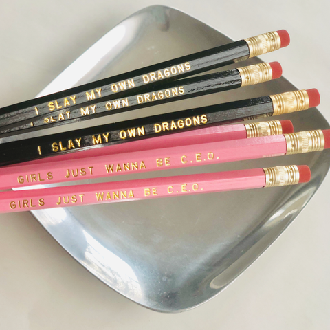Girl Power Pencil Set of 6