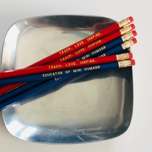 Teacher Pencil Set of 6