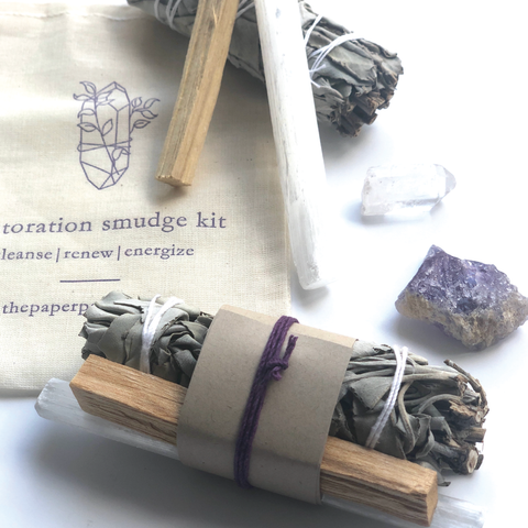 Restoration Sage Smudge Kit