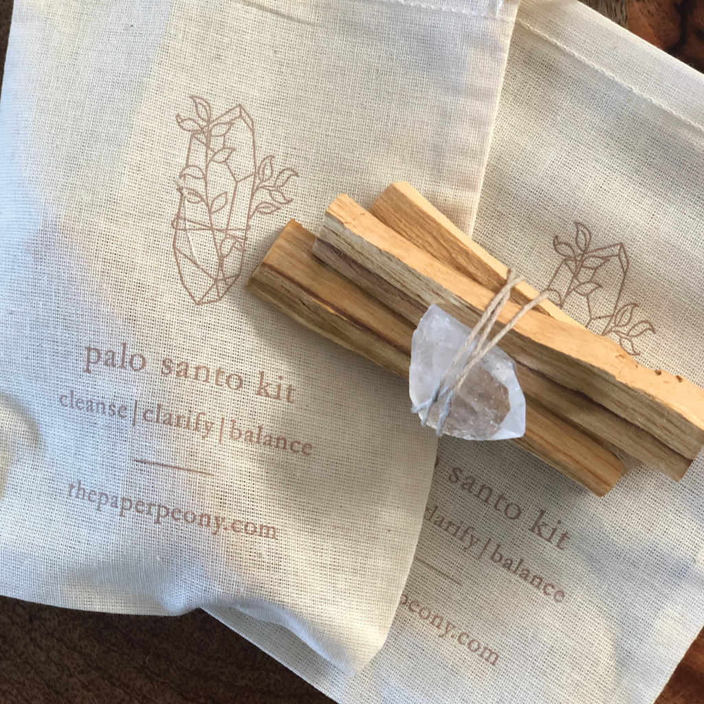 Palo Santo Smudge Kit