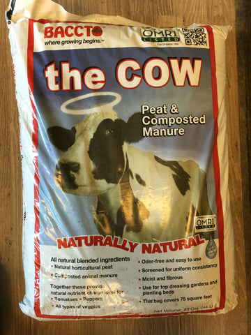 "Baccto - ""THE COW"" Premium Peat & Composted Manure"