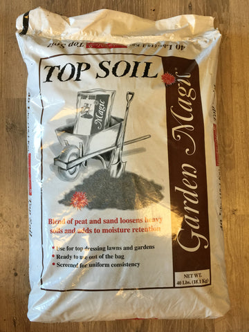 Baccto - Garden Magic Top Soil - 40# Bag - Made in USA