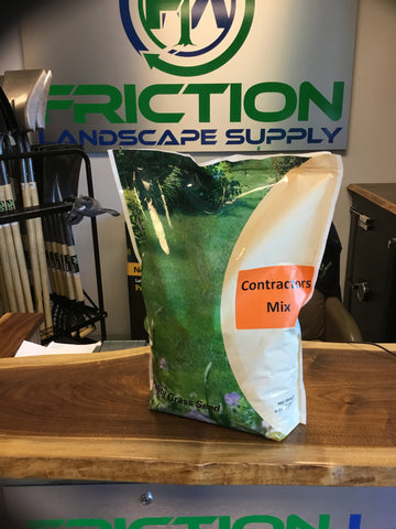 Contractors Mix Grass Seed