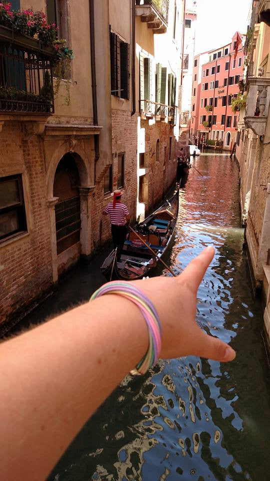 Gondola ride in Venice - bucket bracelets - 2